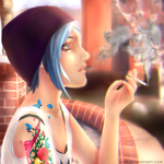Smoking by Lu-N
