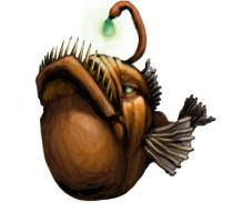 Angler Fish for AREA 5150 by GreenAirplane