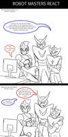 Robot masters react to... by zavraan