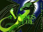 Wings of Fire the Greenstar cover page by draconixon