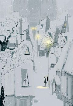 Four thirty in winter. by PascalCampion
