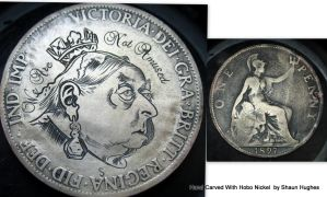 Defacing Currency Hand Engraved by Shaun Hughes by shaun750