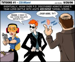 TVTOONS 001 - CSI Miami by justicefrog