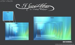 i_love_blue Wallpaper Pack by 3xhumed
