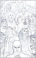The X men by alfret