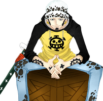 Trafalgar Law by KatieFoo