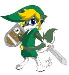Toon Wolf Link Color by GunZcon