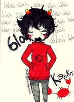 Kankri Vantas chibi by TravelersDaughter