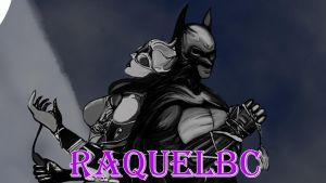 Catwoman and Batman banner by RaquelBC