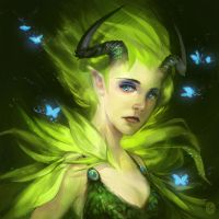Leaf Faerie by vesssel