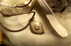 Assassins Creed SILVER pendant by Destinyfall