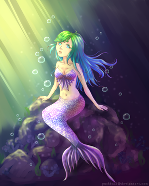 Mermaid by pushis33
