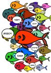 Insult Fishes by The-Mirrorball-Man