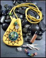Dance of the Heart Medicine Bag and Healing Kit by andromeda