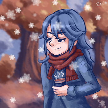 Lucina Fall Doodle by Pittree