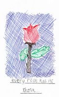 Every Rose Has Its Thorn by SummerDaize