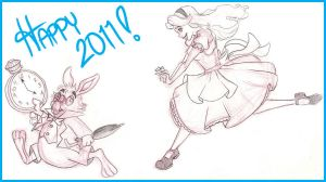 Happy Year of the Rabbit by RamblinQuixotic