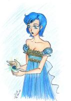 Princess Mercury by Neko-Serenity14