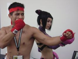 Ryu and Juri by TS-Calibrate