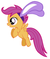 Scootaloo Bunny by MasterMcnugget