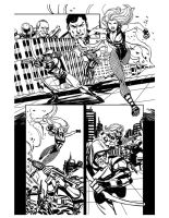 green Arrow Black Canary 28 p4 by Miketron2000