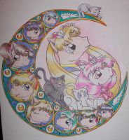 Pony Sailor Moon Crescent by angelberries