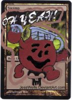 Altered Magic Card Kool Aid by JessWells