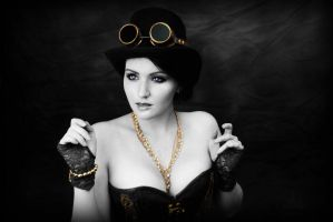 Steampunk Lady by AverusX
