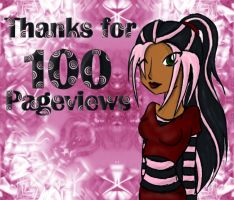 100 pageviews by Ctykty