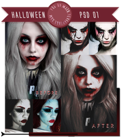 Dark PSD |Halloween 01| by Mjzo