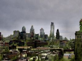 Philadelphia, After People by richiebeck