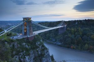 Clifton Suspension Bridge by cuffbertt