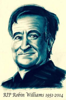 Robin Williams by CPD-91