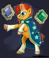 Wizardly Wizard by Sandy--Apples