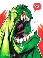 Hulk Scream by CreatureBox