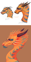 Orange Dragon Remake 2015 by LiLaiRa