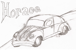 Horace the Hate Bug. by Blockwave