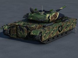 Ultra Heavy Tank WIP Texture2 by m3t4lh34d2666