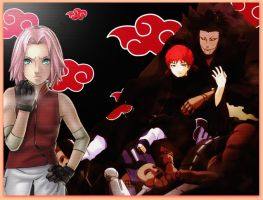Sakura Vs Sasori by nomad91