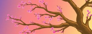 Day 13: Cherry Blossom Tree by Artistic-Winds