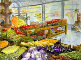Farmer's Market In Fort Worth, Texas by BarbaraPommerenke