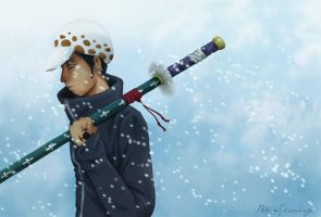 Punk Hazard - Trafalgar Law by BlueShining