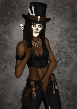 Voodoo Lady by philby