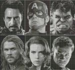 Avengers Patterns - Who should I do next? by AllSunday10