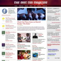 ROR Magazine Redesign by thegreengiant