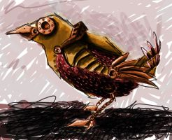 Mechanical Bird by JoyceBrabban