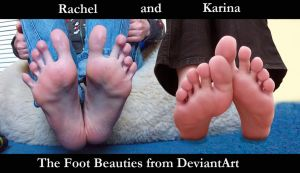 Rachel's and Karina's Feet - Fan-made Picture by KarinaDreamer