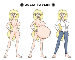 Julia Taylor by RiddleAugust