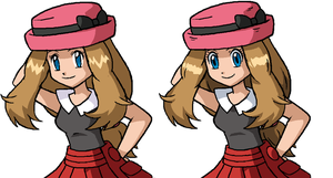 Serena old animation style-actual style by Tzblacktd