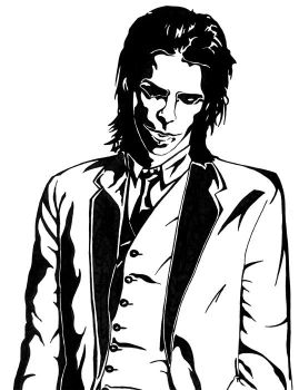 Nick Cave 1 by queen-ink